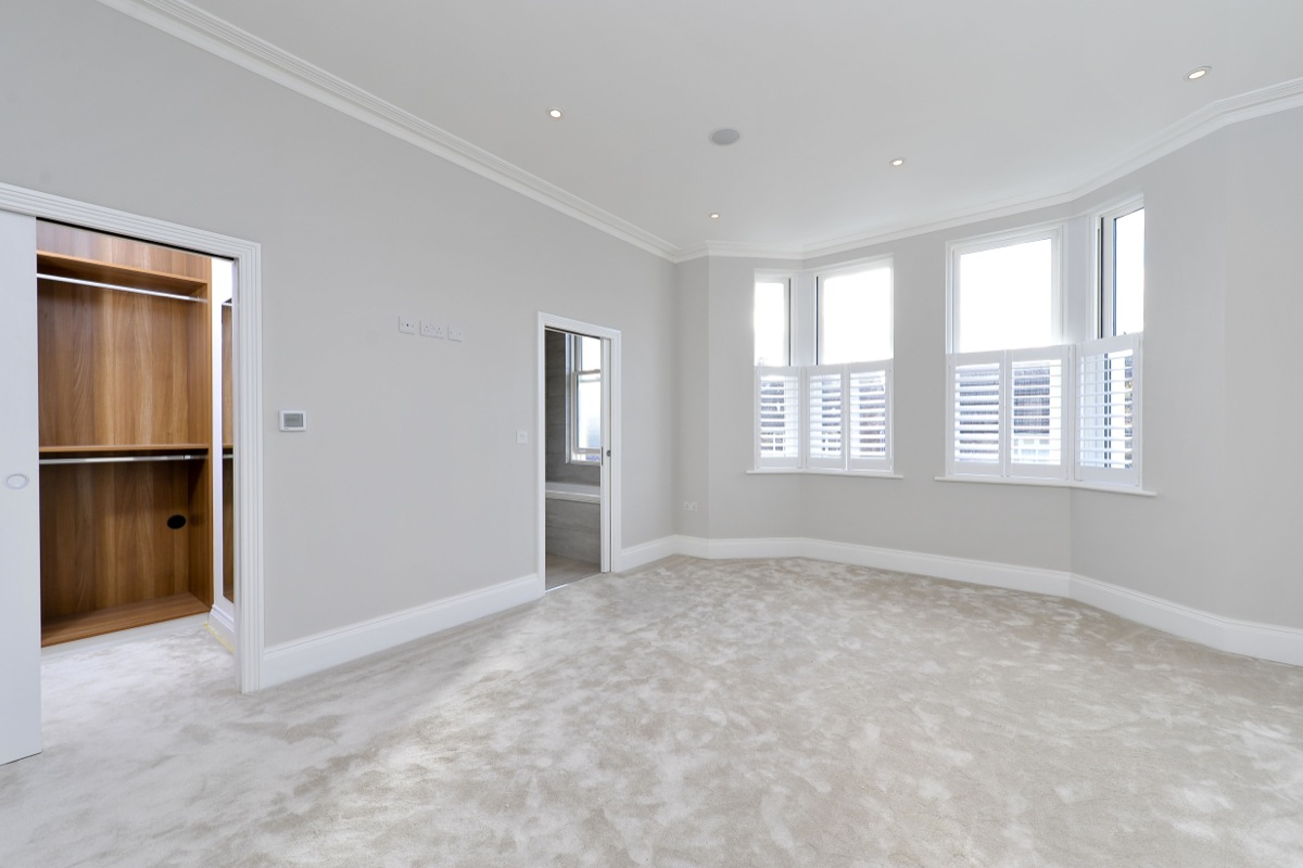 Devereux road wandsworth dna architecture Master bedroom ensuite and wardrobe