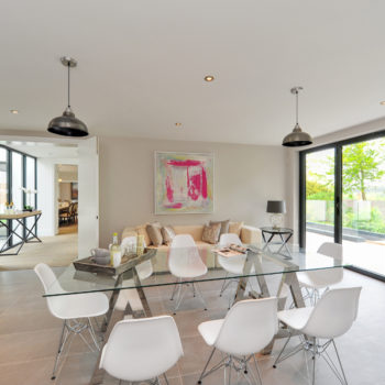 Family Dining Room with Roof Terrace