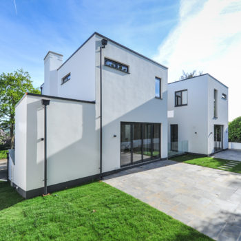 Rear view of Trelawne House by DNA Architecture