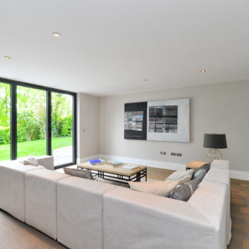 Secondary family room/informal living space