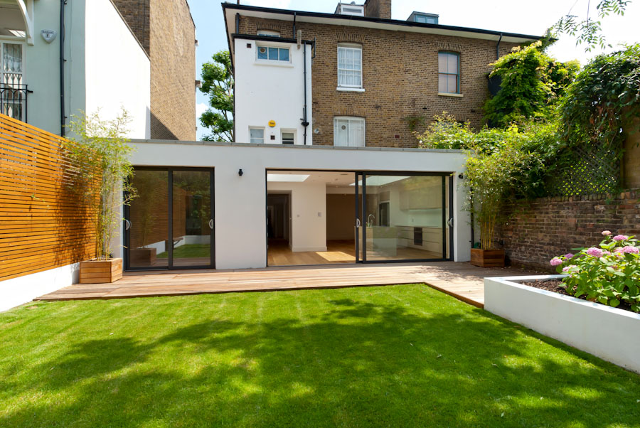 Hammersmith grove w6 dna architecture for Garden house extension
