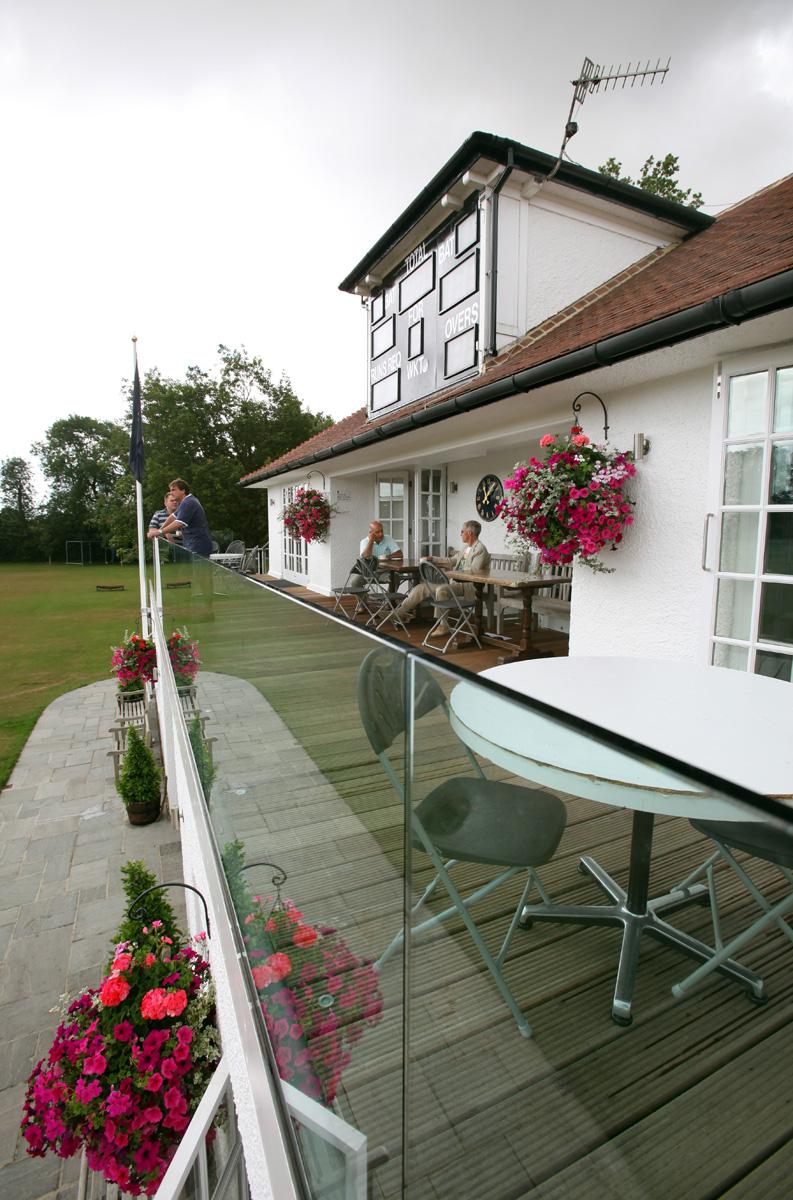 Pavilion verandah