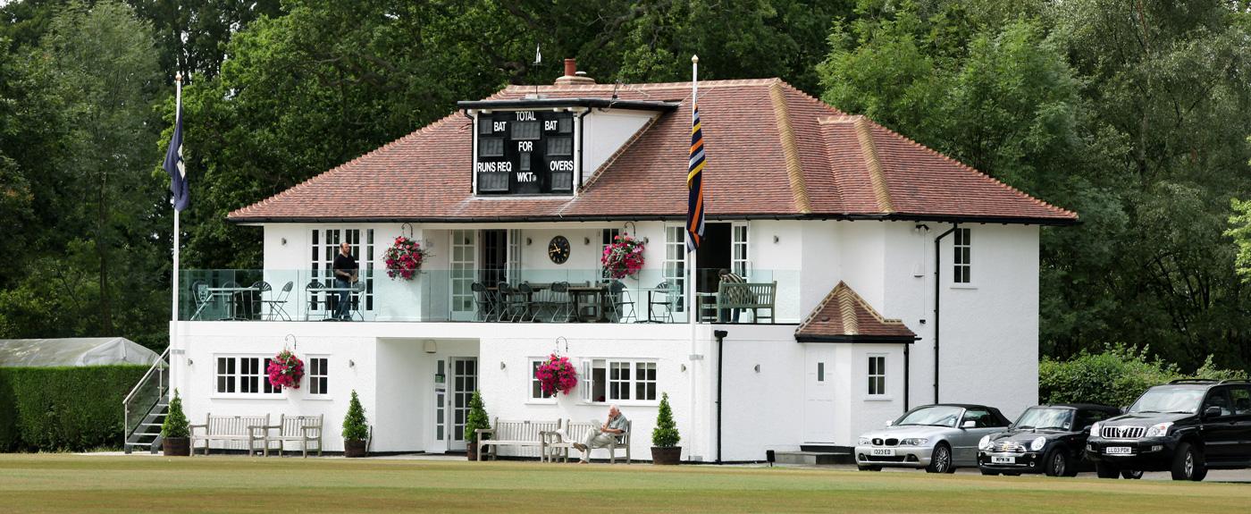 Cranleigh cricket pavilion