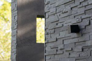 Detailed stone work