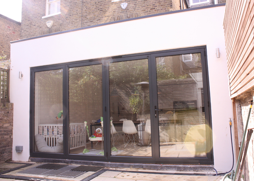 Rear Extension with Side Return In-fill by DNA Architects